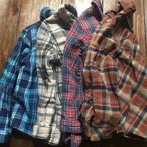 Lot of 4 Button up boys shirts 5T